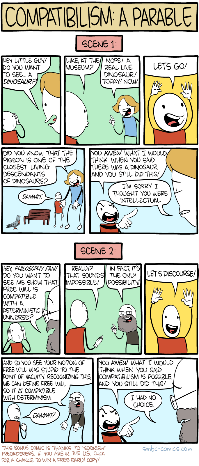 COMPATIBILISM - soonish
