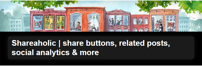 Use the Shareaholic social sharing plugin to help grow your traffic and help your blog make money.
