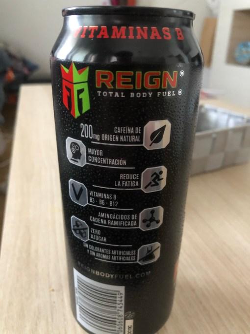 Nueva bebida energética Reign