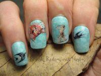 Vintage nail art   Break rules, not nails