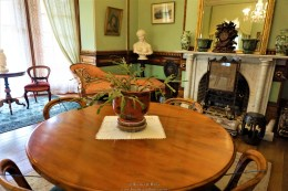 This was the ladies drawing room, here ladies took tea and entertained their friends