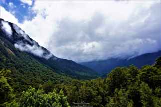 Hollyford Valley in view