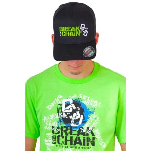 Break the Chain 3D Embroidery Hat Flex Fit