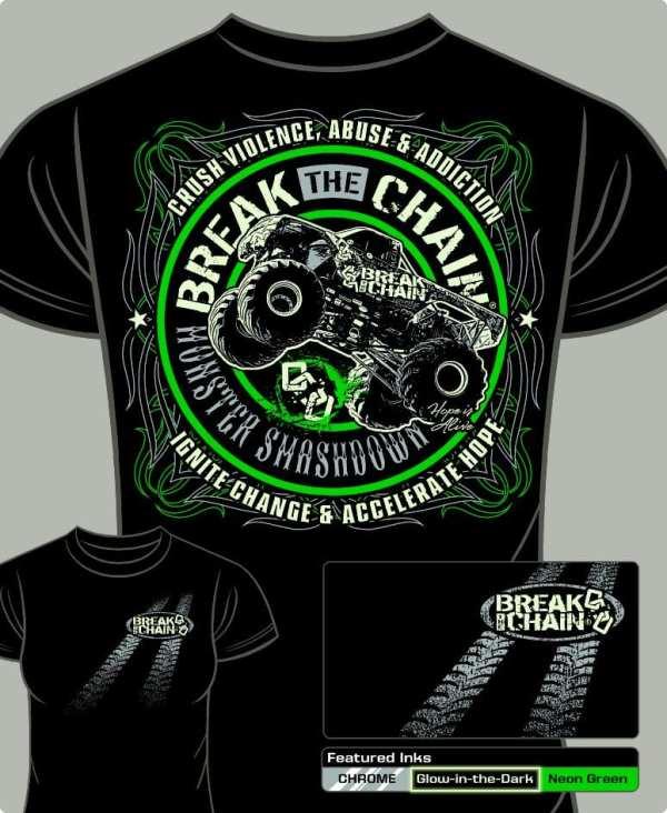 Break the Chain's Monster Smashdown T-Shirt