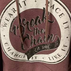 Break the Chain Established Red Hooded Sweat Shirt