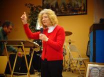 Linda Kidder teaching