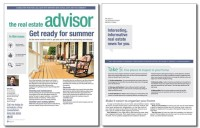Real Estate Advisor Newsletter Template: Volume 4, Issue 4