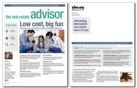 Real Estate Advisor Newsletter Template: Volume 3, Issue 8