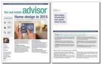 Real Estate Advisor Newsletter Template: Volume 4, Issue 3