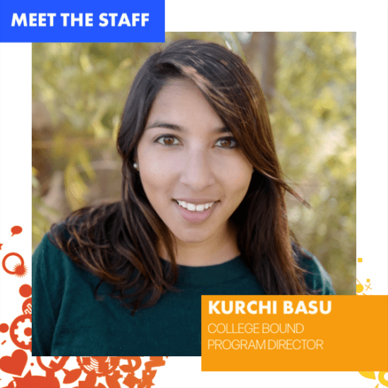 Kurchi Basu, Breakthrough Houston College Bound Director