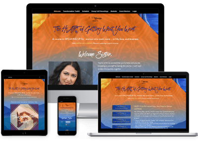 Heart of Getting What You Want Membership Site