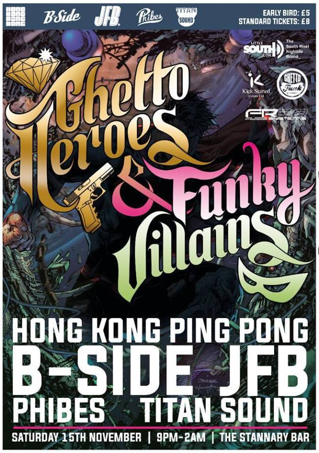 Phibes - LIVE @ Ghetto Heroes & Funky Villains - 15.11.2014