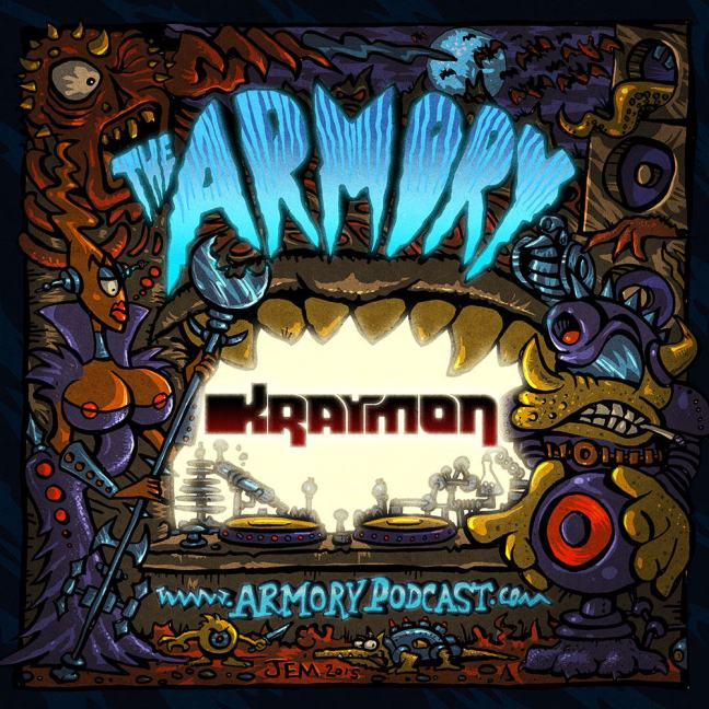Kraymon - The Armory Podcast 095