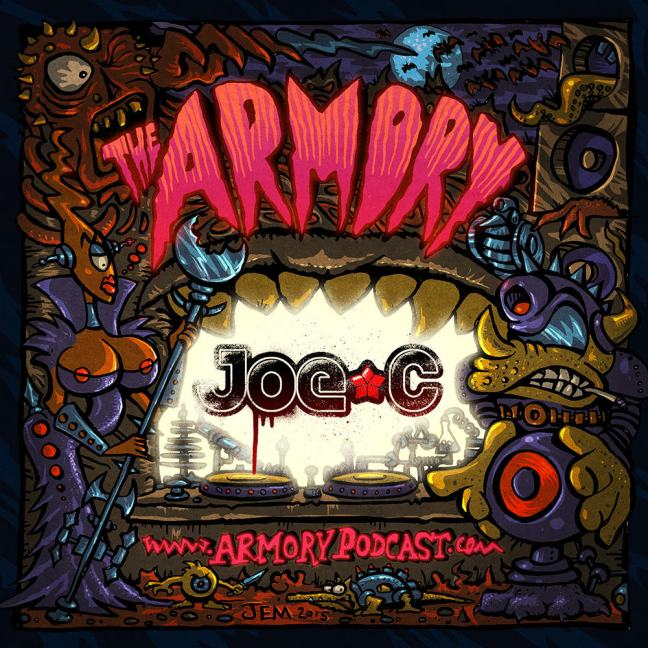 Joe C - The Armory Podcast 110