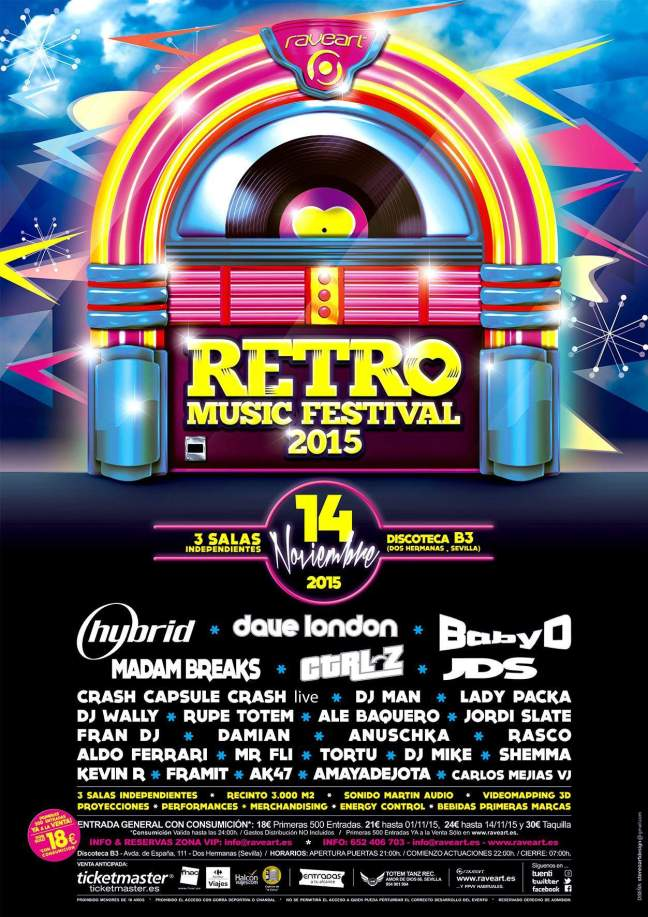 DJ Rasco - LIVE @ Retro Music Festival 2015