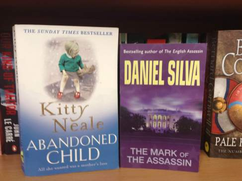 Abandoned Child by Kitty Neale; The Mark of the Assassin by Daniel Silva