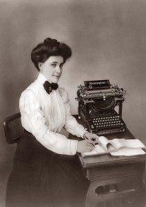 woman-typing
