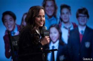 Breanna Yde visits AOL Hq for Build on March 15, 2016 in New York. Photos by Noam Galai