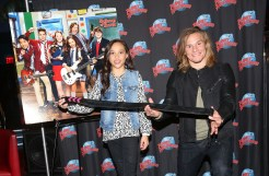 """NEW YORK, NY - MARCH 14: Breanna Yde and Tony Cavalero promote Nickelodeon's New TV Series (based on the film)""""School of Rock"""" at Planet Hollywood Times Square on March 14, 2016 in New York City. (Photo by Bruce Glikas/Bruce Glikas/FilmMagic) *** Local Caption *** Breanna Yde; Tony Cavalero"""