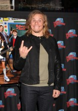 """NEW YORK, NY - MARCH 14: Tony Cavalero promotes his Nickelodeon New TV Series (based on the film)""""School of Rock"""" at Planet Hollywood Times Square on March 14, 2016 in New York City. (Photo by Bruce Glikas/Bruce Glikas/FilmMagic) *** Local Caption *** Tony Cavalero"""