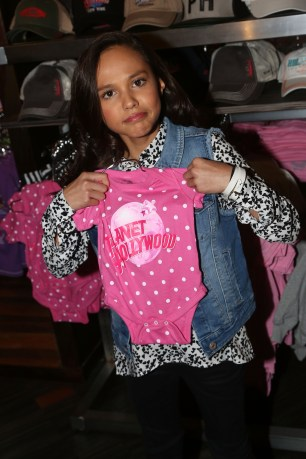 """NEW YORK, NY - MARCH 14: Breanna Yde promotes her New Nickelodeon TV Series (based on the film) """"School Of Rock"""" at Planet Hollywood Times Square on March 14, 2016 in New York City. (Photo by Bruce Glikas/FilmMagic) *** Local Caption *** Breanna Yde"""