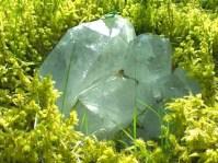 Healing Crystals in a Breast Cancer Healing Garden