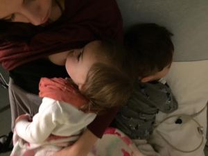 Breastfeeding in an emergency.