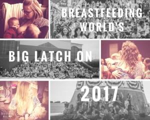 Breastfeeding World's Big Latch On 2017, Central Indiana's Big Latch On,