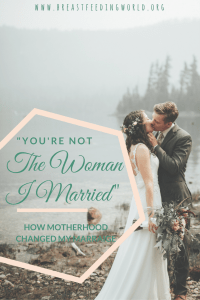 Is your marriage struggling after children? You aren't alone. Read now, or Pin later, every mother and father must read! | Breastfeeding World | Squidmama | Marriage | Relationships | Marriage Quotes | Marriage Advice | Struggling Marriage | Married Life | Marriage Goals | Relationship Goals | kids marriage advice |