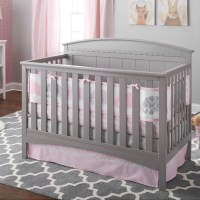 BreathableBaby 3pc Ultra Luxe Reversible Crib Bedding Set ...