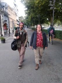 Miki and Petra in Turku