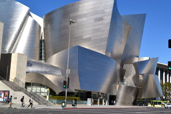 Walt Disney Concert Hall Discovering Geometry And
