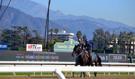 Santa Anita Race Track, Arcadia, CA