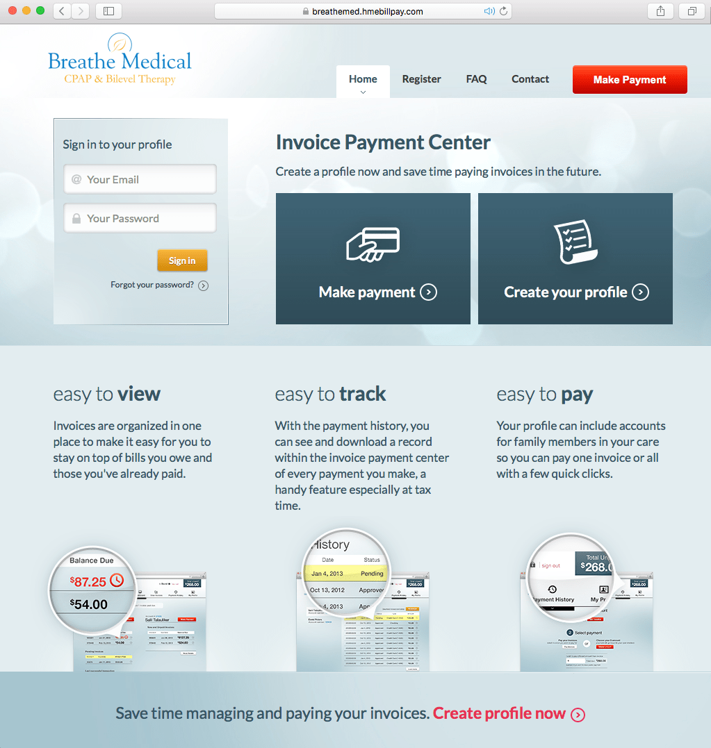 How to Pay Your Bill – ONLINE