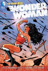 Cover of Wonder Woman volume 1, Blood