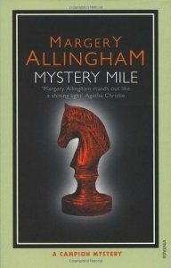 Cover of Mystery Mile, by Margery Allingham