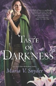 Cover of Taste of Darkness, by Maria V. Snyder