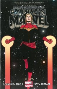 Cover of Marvel's Captain Marvel: Down