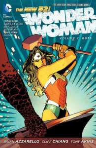 Cover of Wonder Woman vol. 2, Guts