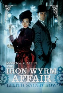 Cover of The Iron Wyrm Affair by Lilith Saintcrow