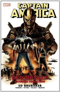 Cover of Captain America: The Red Menace