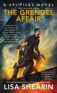 Cover of The Grendel Affair by Lisa Shearin