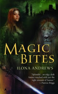 Cover of Magic Bites by Ilona Andrews