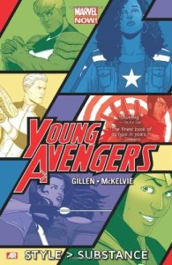 Cover of Young Avengers Style > Substance by Kieron Gillen