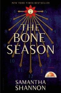 Cover of The Bone Season by Samantha Shannon