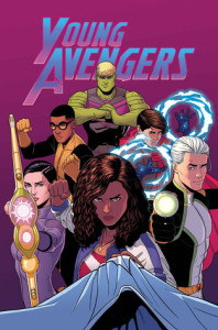 Cover of Marvel's Young Avengers: Mic-Drop at the Edge of Time and Space
