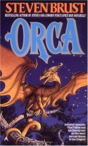 Cover of Orca by Steven Brust