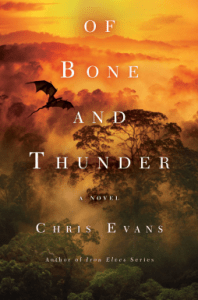 Cover of Of Bone and Thunder by Chris Evans