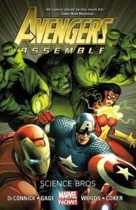 Cover of Avengers Assemble: Science Bros
