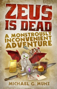 Cover of Zeus is dead by Michael G. Munz
